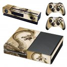 Quetzalcoatl Digital Art decal skin sticker for Xbox One console and controllers