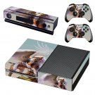 Winged Lion decal skin sticker for Xbox One console and controllers