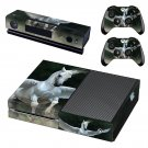 Pegasus horse  decal skin sticker for Xbox One console and controllers