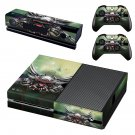 Abstract Wallpaper decal skin sticker for Xbox One console and controllers