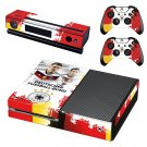 Germany national football team decal skin sticker for Xbox One console and controllers
