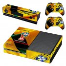 2018 FIFA World Cup CBF decal skin sticker for Xbox One console and controllers