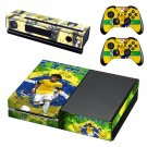 Neymar decal skin sticker for Xbox One console and controllers