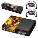Cleveland Cavaliers decal skin sticker for Xbox One console and controllers