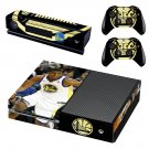 Golden state warriors decal skin sticker for Xbox One console and controllers