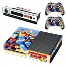 Mega Man 2 decal skin sticker for Xbox One console and controllers