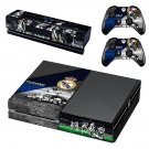 Real Madrid decal skin sticker for Xbox One console and controllers