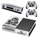 Mega Man 11 decal skin sticker for Xbox One console and controllers