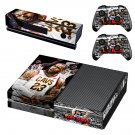Lebron James decal skin sticker for Xbox One console and controllers