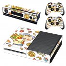 Fast food decal skin sticker for Xbox One console and controllers