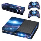 Galaxy Wallpaper decal skin sticker for Xbox One console and controllers