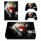 Metal Gear Solid Rising decal skin sticker for Xbox One X console and controllers