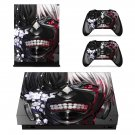 Tokyo Ghoul decal skin sticker for Xbox One X console and controllers
