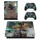 Sea of Thieves decal skin sticker for Xbox One X console and controllers