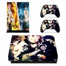 Fairy Tail decal skin sticker for Xbox One X console and controllers