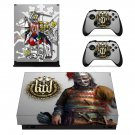Kingdom Come Deliverance decal skin sticker for Xbox One X console and controllers