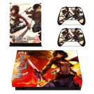 Attack on Titan 2 decal skin sticker for Xbox One X console and controllers