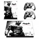 Batman Arkham Knight decal skin sticker for Xbox One X console and controllers