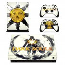 Dark Souls decal skin sticker for Xbox One X console and controllers
