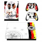 2018 FIFA World Cup Deutscher decal skin sticker for Xbox One X console and controllers