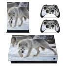 Wolves decal skin sticker for Xbox One X console and controllers
