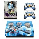 2018 FIFA World Cup Messi decal skin sticker for Xbox One X console and controllers