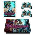 Bloodstained Ritual of the Night decal skin sticker for Xbox One X console and controllers