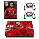 Mohamed Salah decal skin sticker for Xbox One X console and controllers