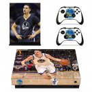 Klay Thompson decal skin sticker for Xbox One X console and controllers
