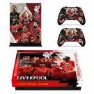 Liverpool FC decal skin sticker for Xbox One X console and controllers