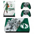 Kevin Garnett decal skin sticker for Xbox One X console and controllers