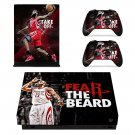 James Harden decal skin sticker for Xbox One X console and controllers