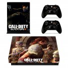 Call of Duty black ops 4 decal skin sticker for Xbox One X console and controllers