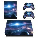 Galaxy Wallpaper decal skin sticker for Xbox One X console and controllers