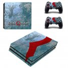 God of war decal skin sticker for PS4 Pro console and controllers