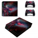Galaxy Scene decal skin sticker for PS4 Pro console and controllers