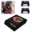 Chicago Bears decal skin sticker for PS4 Pro console and controllers