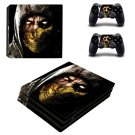 Mortal Kombat X decal skin sticker for PS4 Pro console and controllers