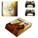 Tom Clancy's Rainbow Six Siege decal skin sticker for PS4 Pro console and controllers