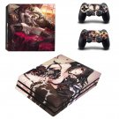 Kurumi Tokisaki decal skin sticker for PS4 Pro console and controllers