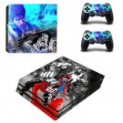 Hokuto ga Gotoku decal skin sticker for PS4 Pro console and controllers