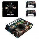 Far Cry 5 decal skin sticker for PS4 Pro console and controllers