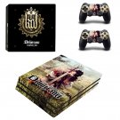 Kingdom Come Deliverance decal skin sticker for PS4 Pro console and controllers