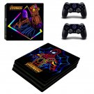 Avengers infinity war decal skin sticker for PS4 Pro console and controllers
