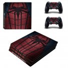 Spider Man decal skin sticker for PS4 Pro console and controllers