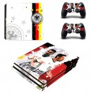 Germany national football team decal skin sticker for PS4 Pro console and controllers