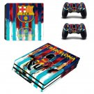 FC Barcelona Messi decal skin sticker for PS4 Pro console and controllers