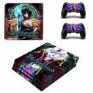 Bloodstained Ritual of the Night decal skin sticker for PS4 Pro console and controllers