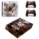 State of Decay 2 decal skin sticker for PS4 Pro console and controllers