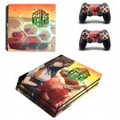 Metal Max Xeno decal skin sticker for PS4 Pro console and controllers